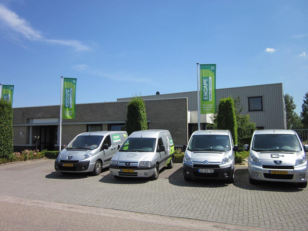escape mobility company hauptsitz die Niederlande
