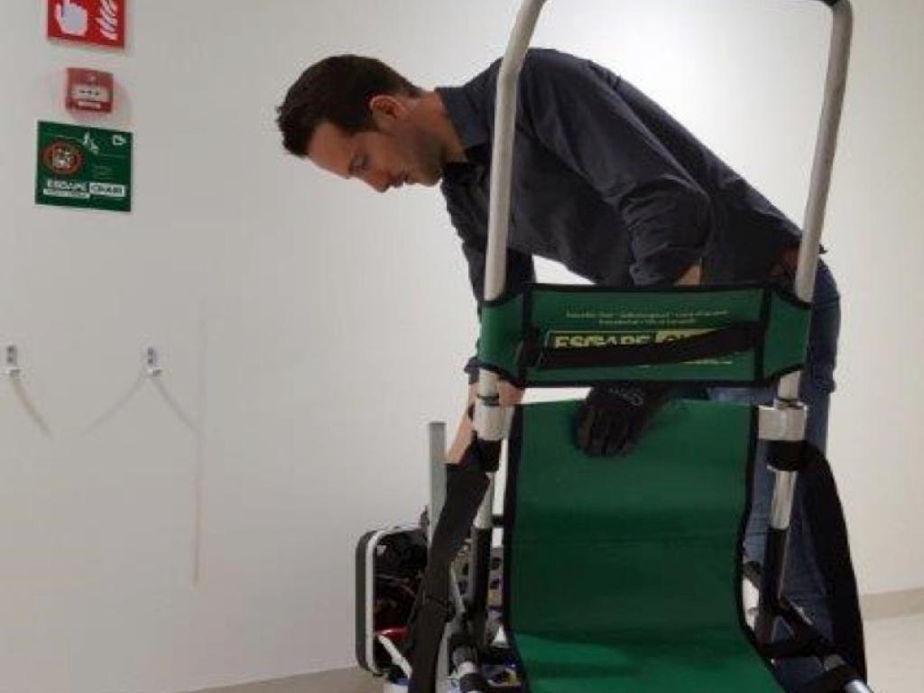 wartung Escape-Chair evac chair evakuierungsstuhl