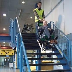 Evakuierungshilfsmittel sind unvermeidlich auf Flughäfen